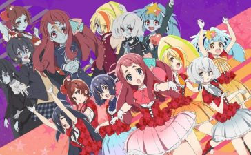 Developed by Studio MAPPA in collaboration with Avex Pictures, Dugout, and Cygames, Zombieland Saga' is an original horrorcomedy anime show. It revolves around a group of past idols who are revived by the maniac necromancer Kotaro Tatsumi to form the all-girl band Franchouchou (alternatively, Fran Chou Chou). Kotaro, who also serves as the group s producer,
