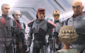 """""""Star Wars: The Bad Batch"""" episode 1 is a delightful trip to the galaxy far, far away that not only puts the spotlight on the elite clone trooper group Clone Force 99 (aka The Bad Batch) but also re-visits important events and fan-favorite characters from the franchise. It packs a solid emotional punch and connects"""