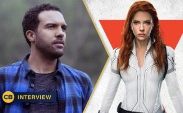 Black Widow: O-T Fagbenle Mason And Natasha's Relationship (Exclusive)