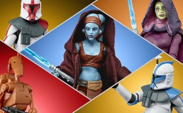 Star Wars Clone Wars 2D Micro-Series Black Series and Vintage Collection Figures Launch at Collector Con
