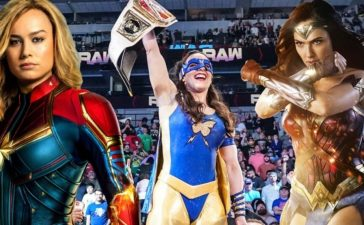 How Wonder Woman and Captain Marvel Helped Nikki A.S.H. Pitch Her New WWE Persona