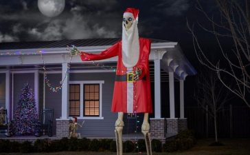 Home Depot Releases Outfits for Their Giant 12-Foot Skeleton