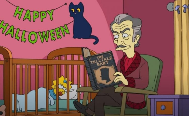 The Simpsons: Treehouse of Horror Clip Teases Vincent Price in Halloween Episode