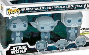 Funko Drops a Star Wars Force Ghost Exclusive Pop Figure 3-Pack