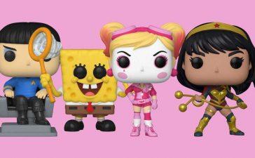 Funko's First Pops With Purpose Figures: DC Bombshells, Yara Flor, Spock, and Spongebob