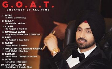 Diljit Dosanjh's New Album titled G.O.A.T on 30 July, 'all Genres in One Album' – See Latest | Khatrimaza
