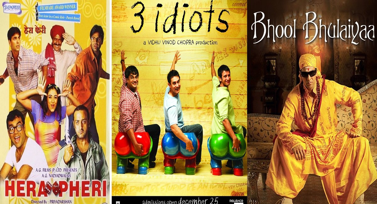 Top 10 Hindi Comedy Movies of All Time: Best Bollywood Comedy Movies To Watch – See Latest | Khatrimaza