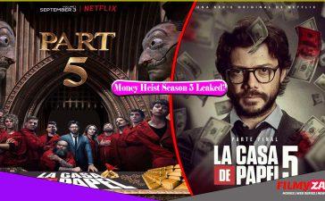 Money Heist Season 5 Web Series Download Leaked by Filmywap, Mp4moviez